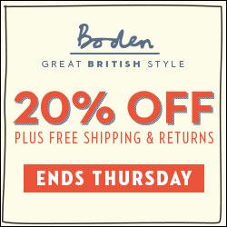 [영국 패션 보덴 해외 직구] 보덴 20% 할인에 무료 배송