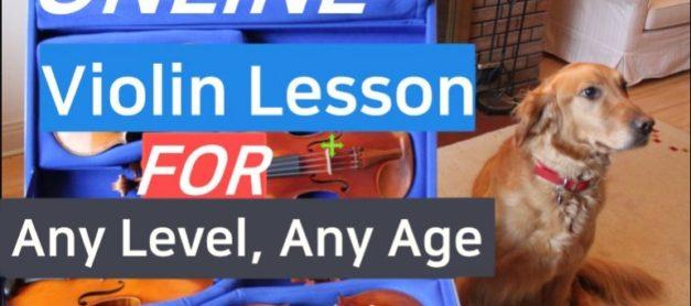 Realtime Online Violin Lesson- Any Level, Any Age . 모두를 위한 실시간 온라인 바이올린 레슨